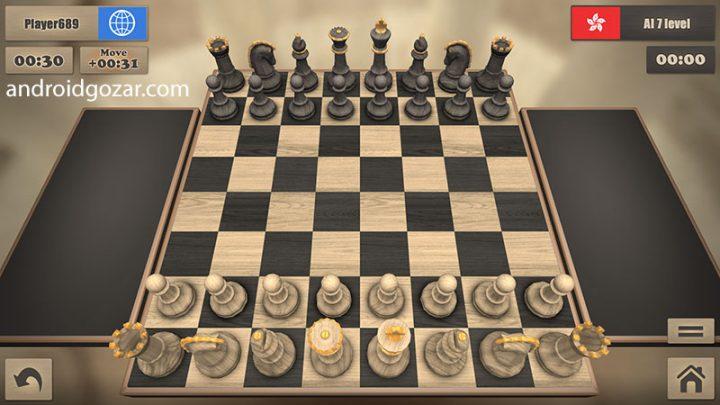 Real Chess 2.8 دانلود بازی شطرنج واقعی اندروید + فول مود