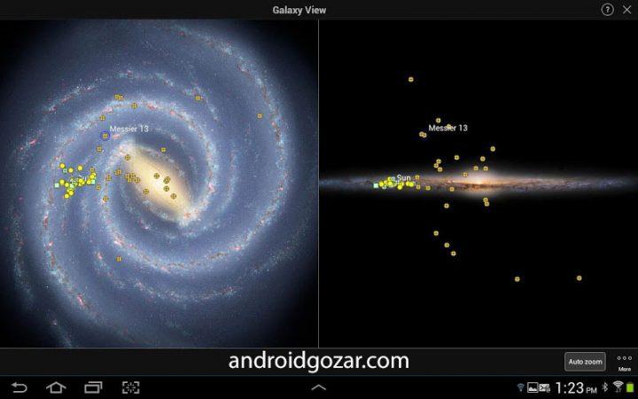SkySafari 5 Pro 5.4.0.0 دانلود نرم افزار نجوم و ستاره شناسی اندروید + دیتا