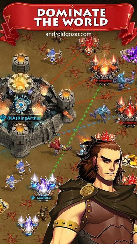 Storm of Wars 3.10.20 دانلود بازی استراتژیک طوفان جنگ ها اندروید + دیتا