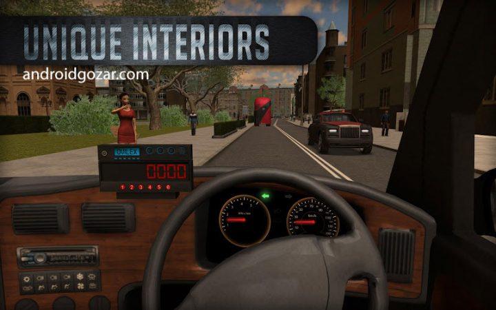 Taxi Sim 2016 1.5.0 دانلود بازی شبیه ساز رانندگی تاکسی + مود