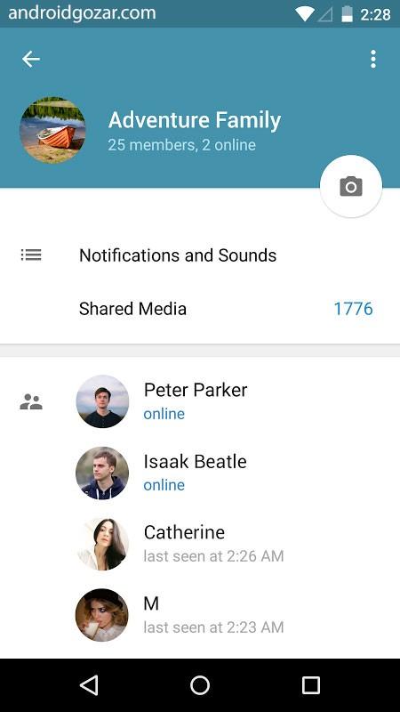 دانلود Telegram 5.14.0 تلگرام اصلی جدید و قدیمی اندروید