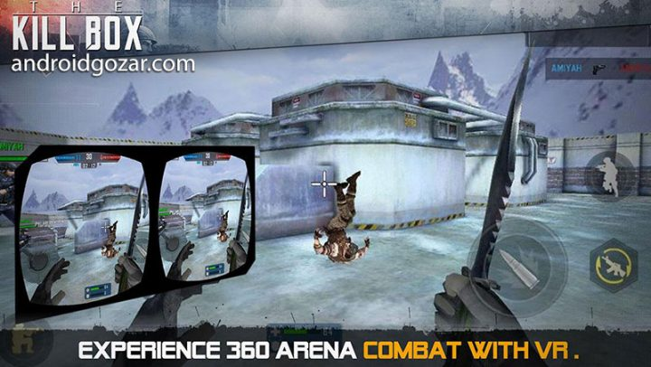 The Killbox: Arena Combat 2.14 دانلود بازی اکشن عرصه نبرد اندروید + دیتا