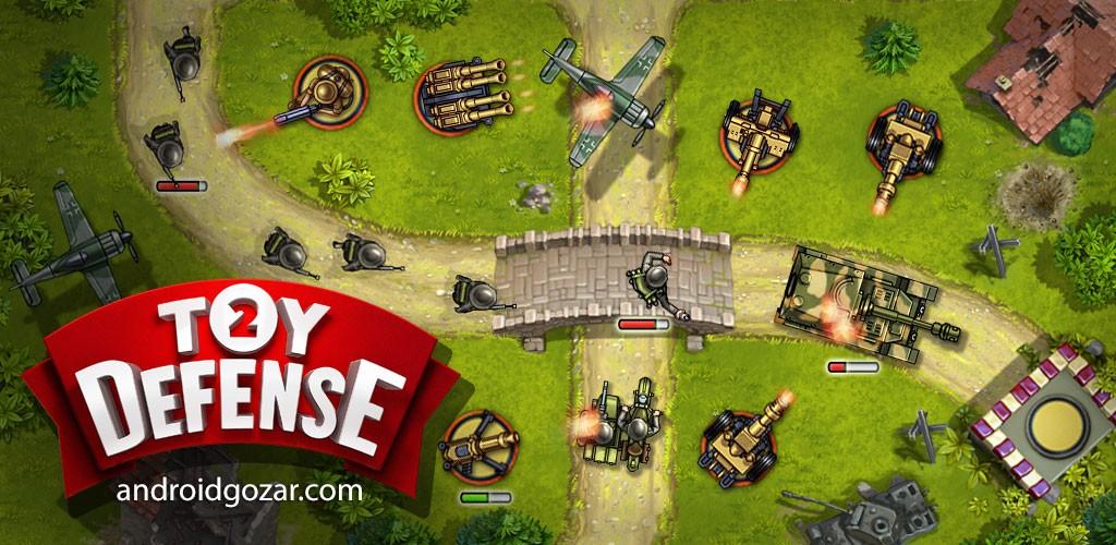 Toy Defense 2 2.17 دانلود بازی دفاع اسباب بازی 2 اندروید + مود