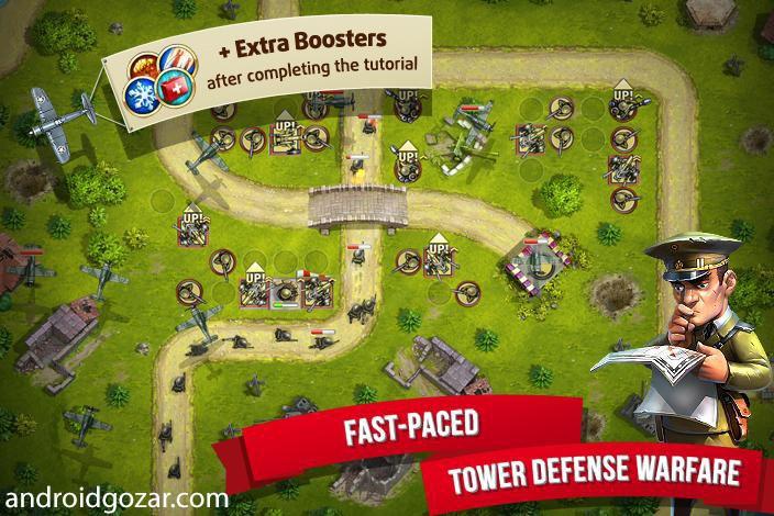 Toy Defense 2 2.15.1 دانلود بازی دفاع اسباب بازی 2 اندروید + مود + دیتا