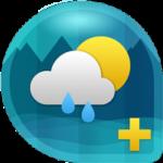 Weather & Clock Widget Ad Free 3.9.0.1 وضعیت آب و هوا