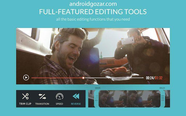 دانلود FilmoraGo Video Editor Full 5.0.9 برنامه ویرایشگر فیلم اندروید