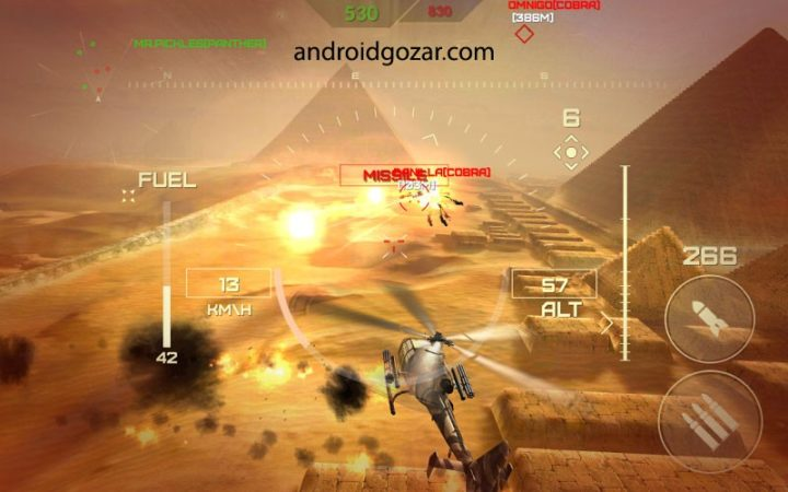World of Gunships Online 1.4.7 دانلود بازی دنیای هلیکوپتر های جنگی + مود