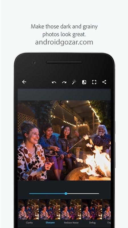 Adobe Photoshop Express Premium 6.0.590 دانلود فتوشاپ اکسپرس اندروید