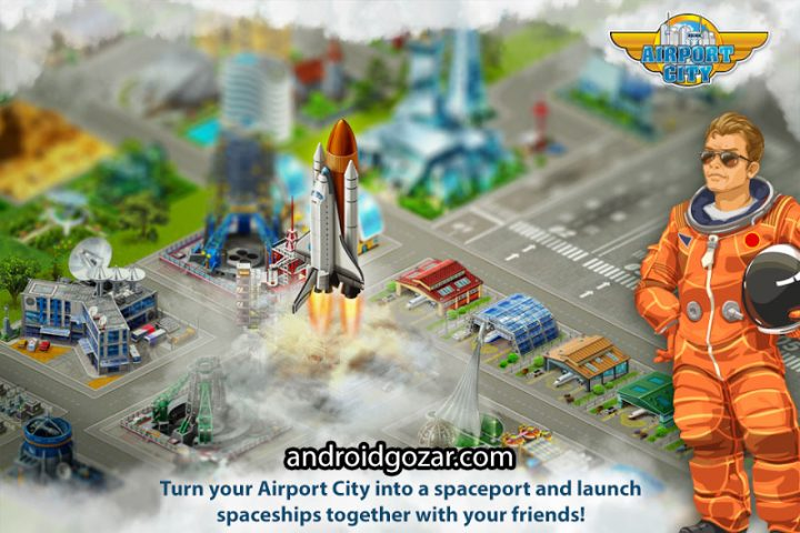 دانلود Airport City 7.21.35 بازی شهر فرودگاهی اندروید + مود