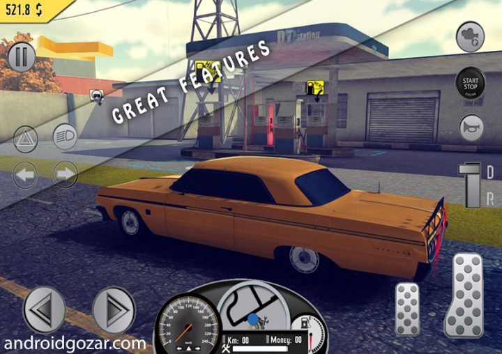 Amazing Taxi Sim 1976 Pro 0.4 دانلود بازی شبیه سازی تاکسی شگفت انگیز + مود