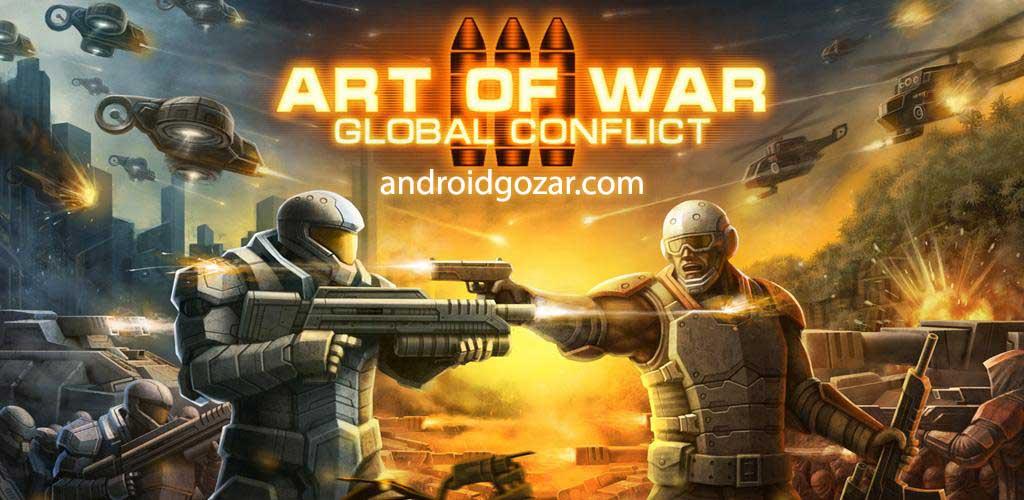 دانلود Art Of War 3 1.0.80 – بازی استراتژی هنر جنگ 3 اندروید