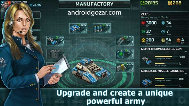 Art Of War 3 1.0.63 دانلود بازی استراتژی هنر جنگ 3 اندروید