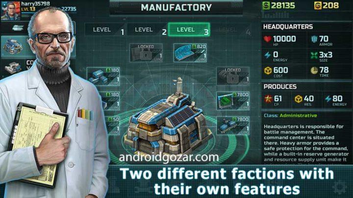 دانلود Art Of War 3 1.0.84 بازی استراتژی هنر جنگ 3 اندروید