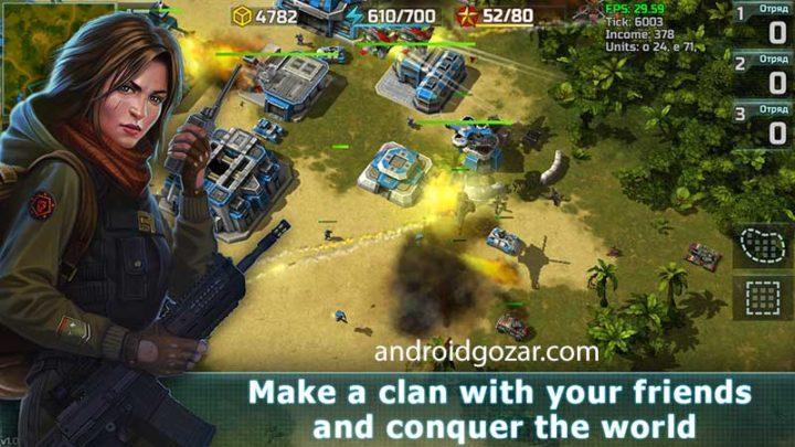Art Of War 3 1.0.66 دانلود بازی استراتژی هنر جنگ 3 اندروید