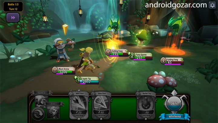 BattleHand 1.9.0 دانلود بازی قهرمانان و شکست شیاطین اندروید + مود