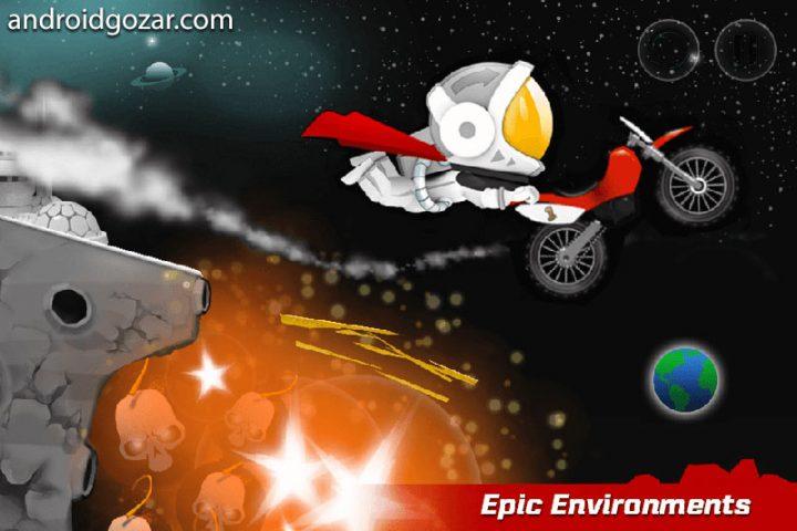 Bike Up 1.0.98 دانلود بازی موتور کراس اندروید + مود