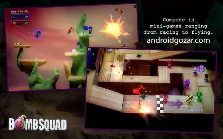 BombSquad 1.4.146 دانلود بازی بمب اسکواد اندروید + Pro Edition