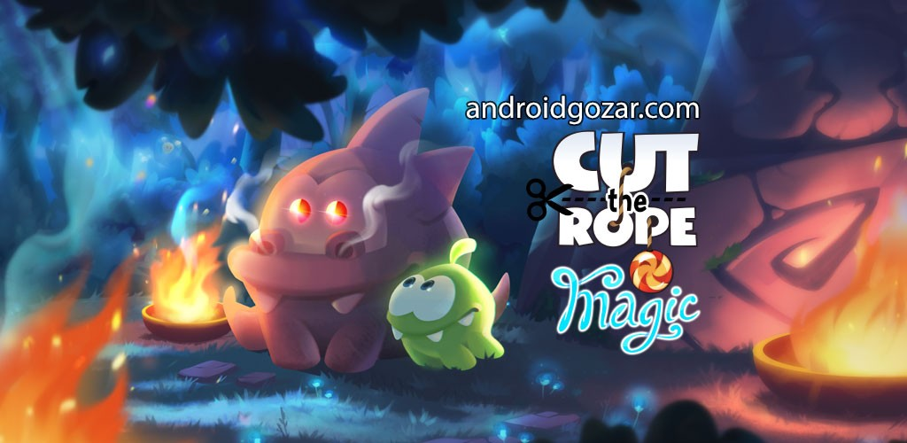 Cut the Rope: Magic 1.10.1 دانلود بازی طناب را ببر: جادو اندروید + مود