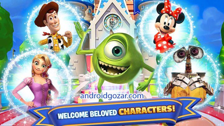 دانلود Disney Magic Kingdoms 5.1.2b بازی پادشاهی جادویی دیزنی اندروید