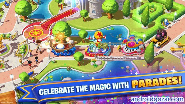 Disney Magic Kingdoms 3.3.0i دانلود بازی پادشاهی جادویی دیزنی اندروید