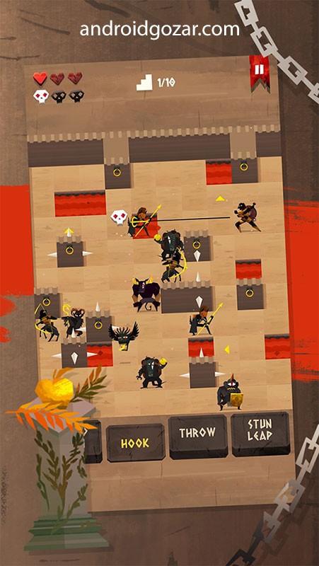 ENYO 1.2.9 دانلود بازی مبارزه با قلاب و سپر اندروید + مود