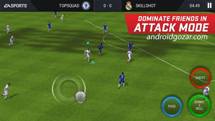 FIFA Soccer 13.0.09 دانلود بازی فوتبال فیفا موبایل اندروید