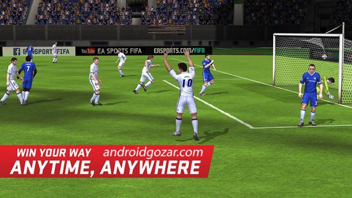 FIFA Soccer 12.5.03 دانلود بازی فوتبال فیفا موبایل اندروید