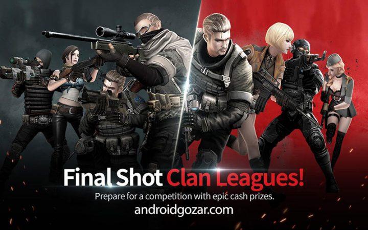 دانلود Final Shot 1.1.4 بازی اکشن شلیک نهایی اندروید