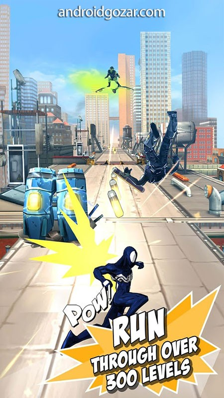 MARVEL Spider-Man Unlimited 4.6.0c دانلود بازی مرد عنکبوتی نامحدود اندروید