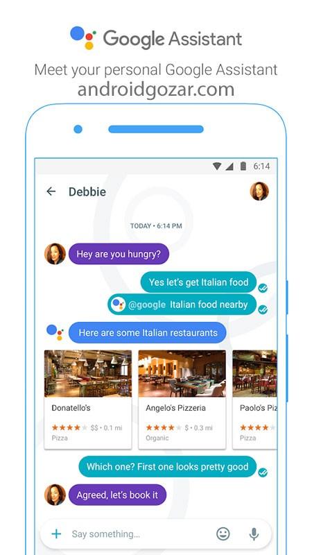 Google Allo 27.0.326 دانلود پیام رسان هوشمند گوگل الو اندروید