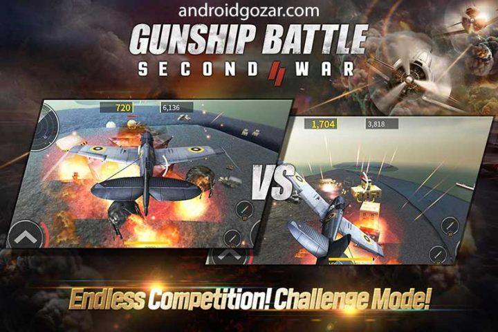 GUNSHIP BATTLE: SECOND WAR 1.12.00 دانلود بازی نبرد هلیکوپتر: جنگ دوم
