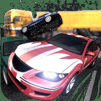 Highway Crash Derby 1.7.5 دانلود بازی ماشین سواری در بزرگراه + مود