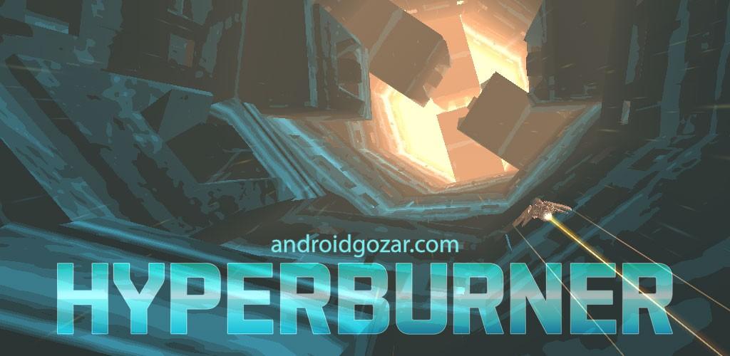 Hyperburner 1.1 دانلود بازی مسابقه ای هدایت سفینه فضایی + مود