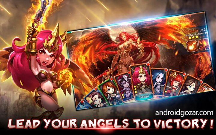 League of Angels 3.9.4.10 دانلود بازی اتحاد فرشتگان اندروید + دیتا