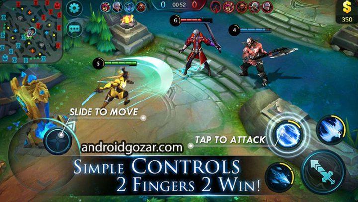 Mobile Legends 1.3.68.3891 دانلود بازی افسانه های موبایل اندروید