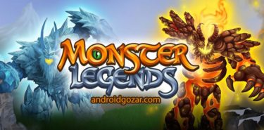 دانلود Monster Legends 9.2.16 – بازی افسانه های هیولا اندروید + مود