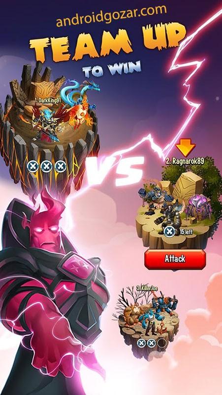 دانلود Monster Legends 9.3 بازی افسانه هیولا اندروید + مود