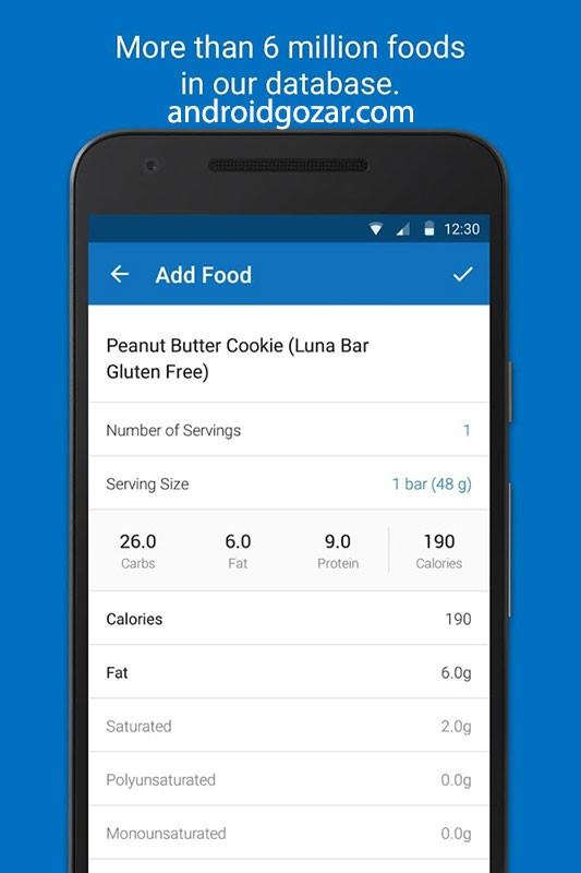 Calorie Counter – MyFitnessPal Premium 19.7.10 دانلود برنامه کاهش وزن