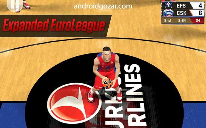 NBA 2K17 0.0.27 دانلود بازی بسکتبال حرفه ای ان بی ای اندروید + مود