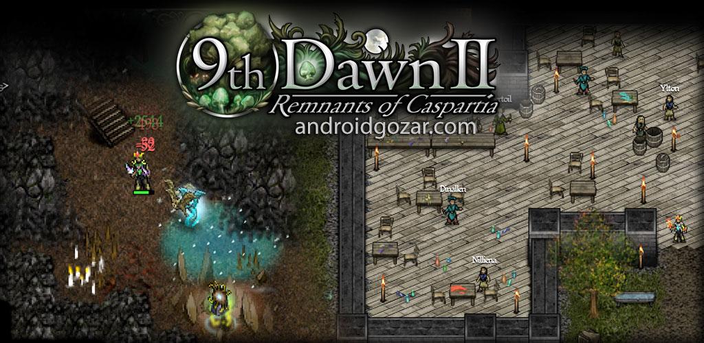 9th Dawn II 2 RPG 1.76 دانلود بازی نقش آفرینی نهمین سحر اندروید