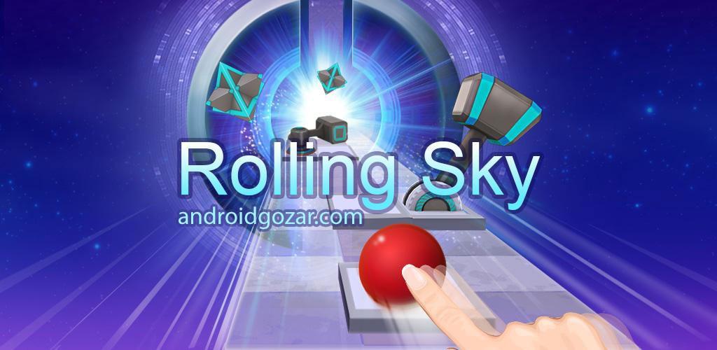 دانلود Rolling Sky 3.4.0 – بازی آسمان نوردی اندروید + مود