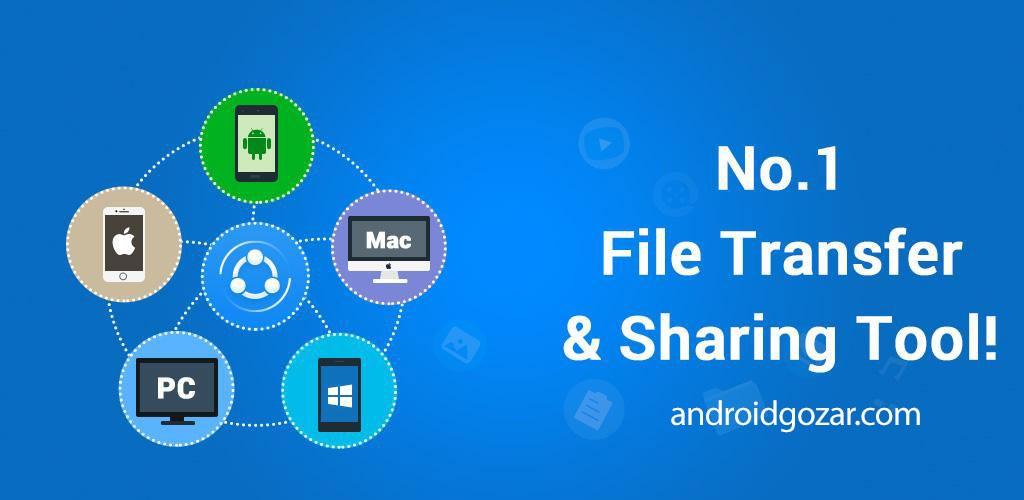 SHAREit 5.0.68_ww دانلود برنامه شریت اندروید + مود