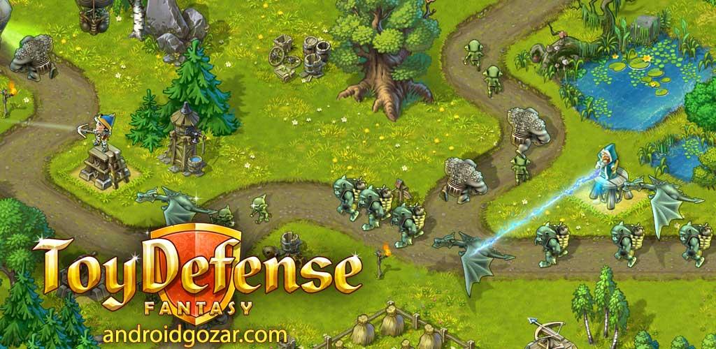 دانلود Toy Defense Fantasy 2.17.0 بازی دفاع اسباب بازی اندروید + مود