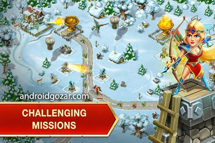 دانلود Toy Defense Fantasy 2.14.1 بازی دفاع اسباب بازی اندروید + مود