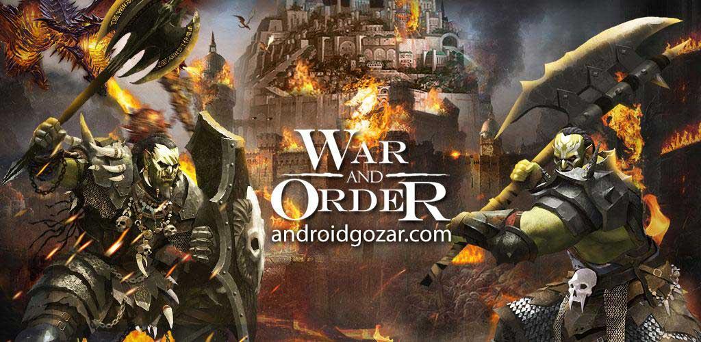 War and Order 1.2.10 دانلود بازی استراتژی جنگ و فرمان اندروید