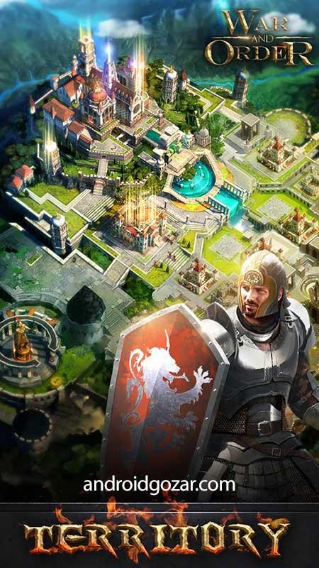 دانلود War and Order 1.3.9 – بازی استراتژیک جنگ و فرمان اندروید