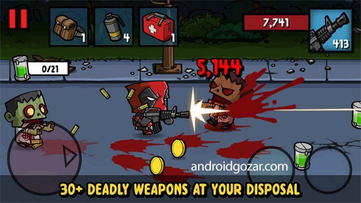 Zombie Age 3 1.3.1 دانلود بازی اکشن عصر زامبی 3 اندروید + مود