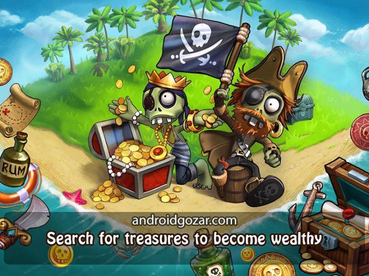 Zombie Castaways 3.19.2 دانلود بازی زامبی عاشق اندروید + مود