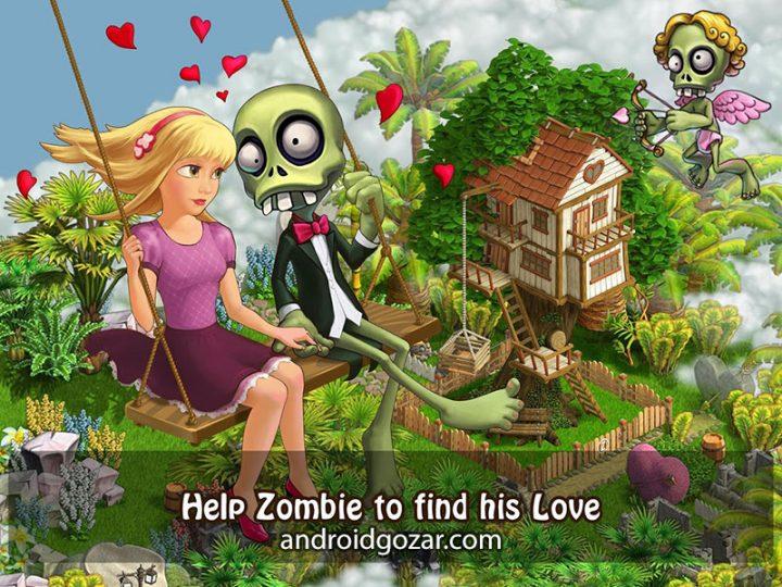 Zombie Castaways 3.25 دانلود بازی زامبی عاشق اندروید + مود