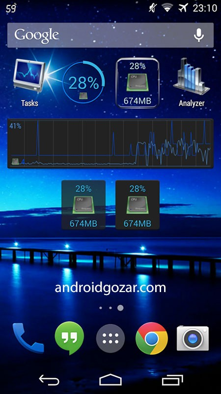 3C Process Monitor Pro 2.3.4 دانلود نرم افزار مدیریت وظیفه اندروید